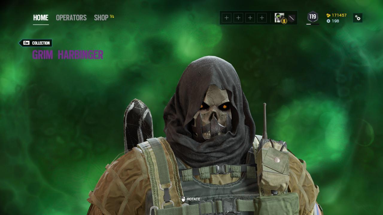 Operator: Kapkan - Grim Harbinger (Head)