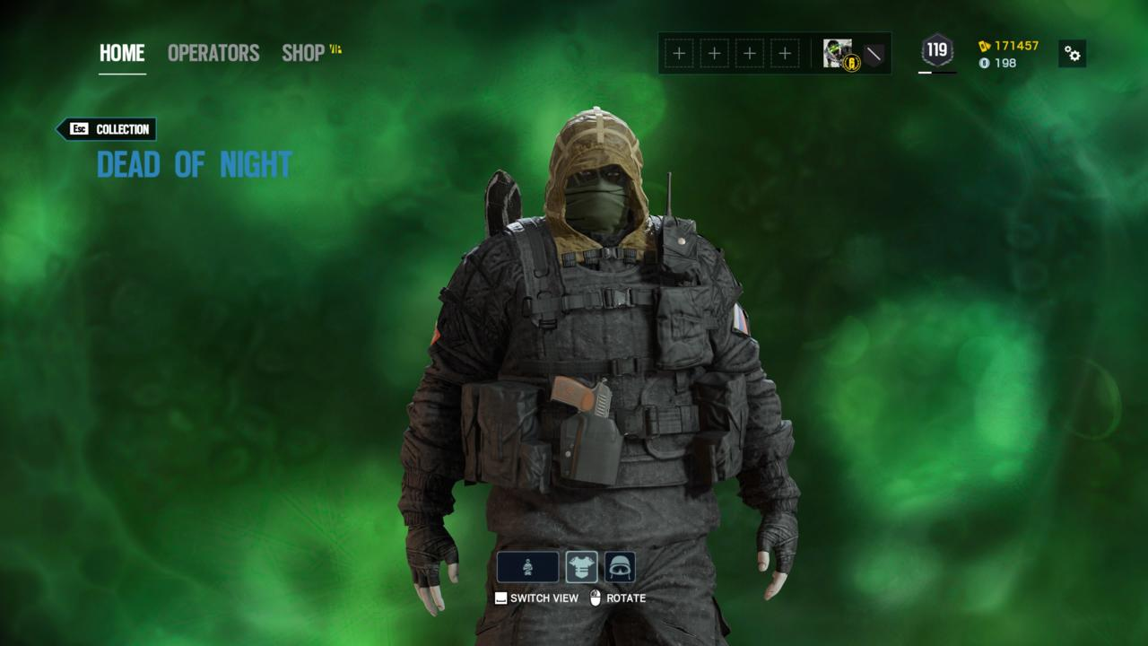 Operator: Kapkan - Dead of Night (Outfit)
