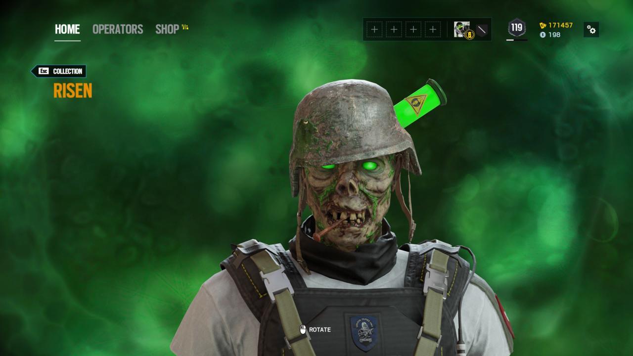 Operator: Lesion - Risen (Head)