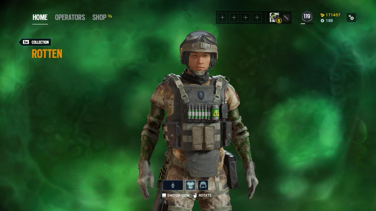 Operator: Lesion - Rotten (Outfit)