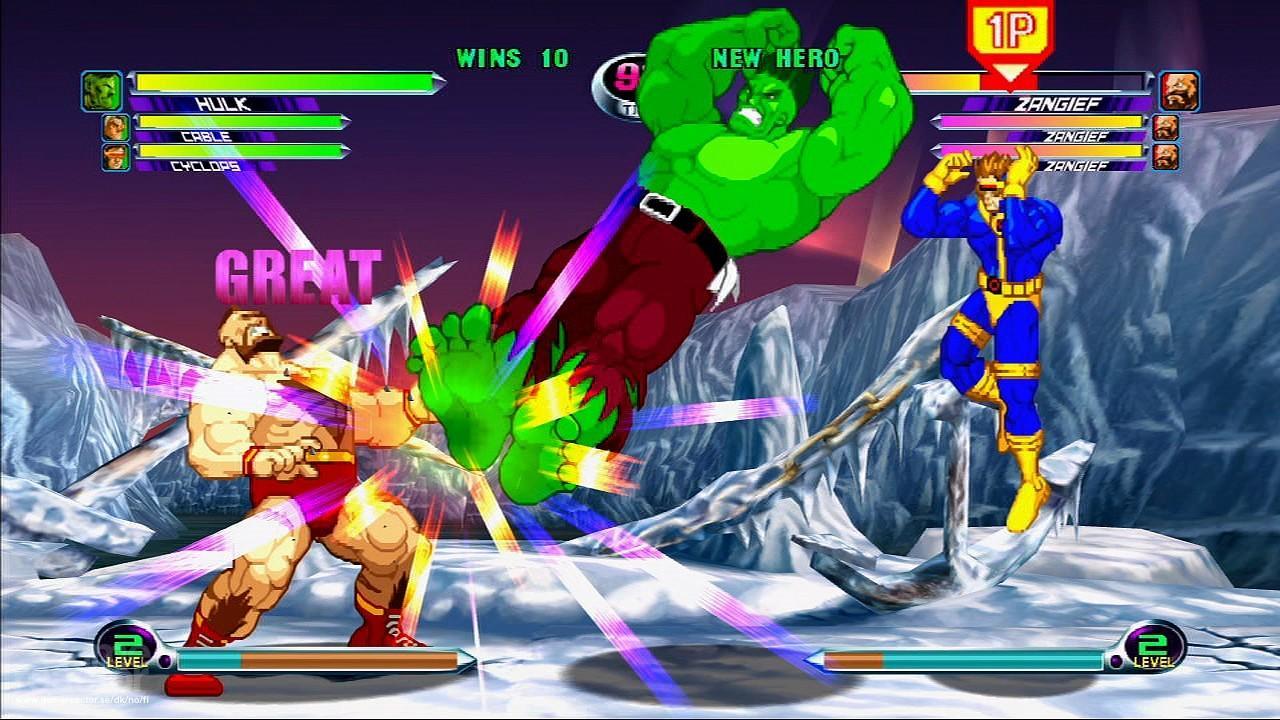 Marvel vs Capcom 2: New Age of Heroes | June 29 (Sega Dreamcast)