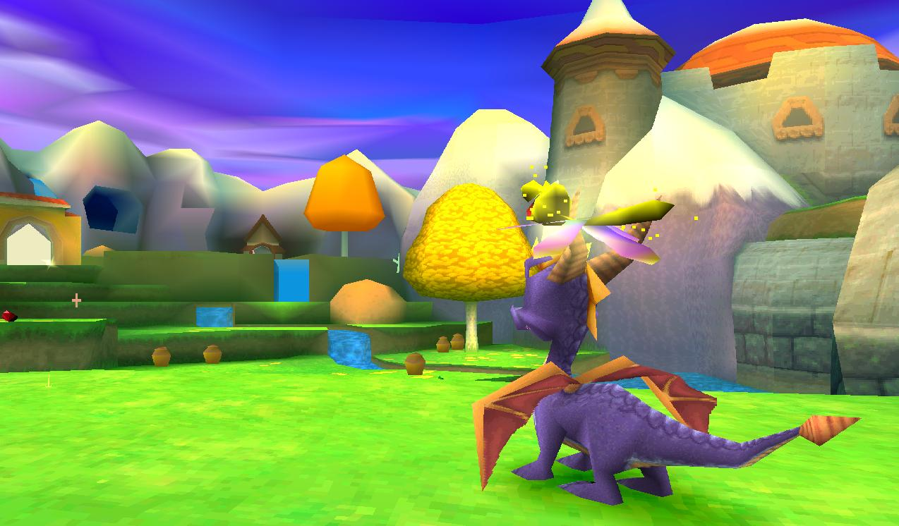 Spyro: Year of the Dragon | October 24