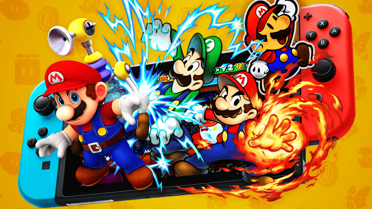 More Mario On The Switch, Please!