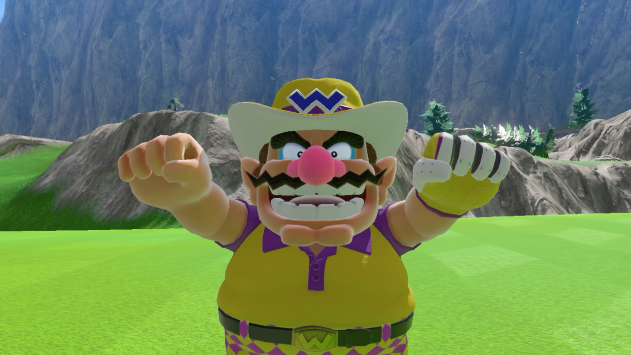 Mario Golf: Super Rush features a cast that comes from all corners of the franchise, including the return of the dastardly Wario.