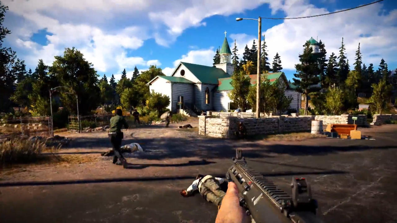 Biggest games: Far Cry 5 takes the battle to rural Montana.