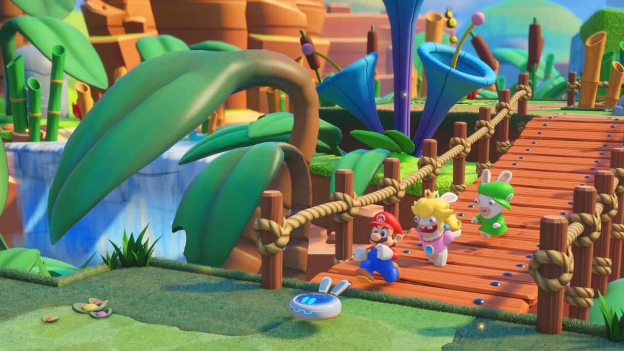Biggest games: Mario + Rabbids meets cover-based tactical combat.