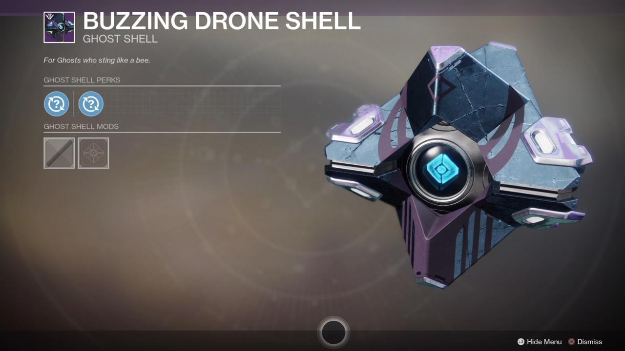 Buzzing Drone Shell