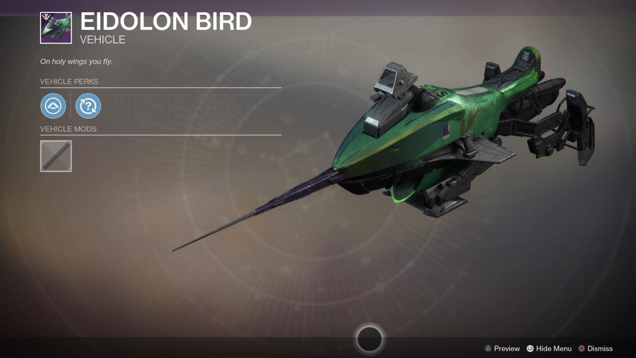 Eidolon Bird