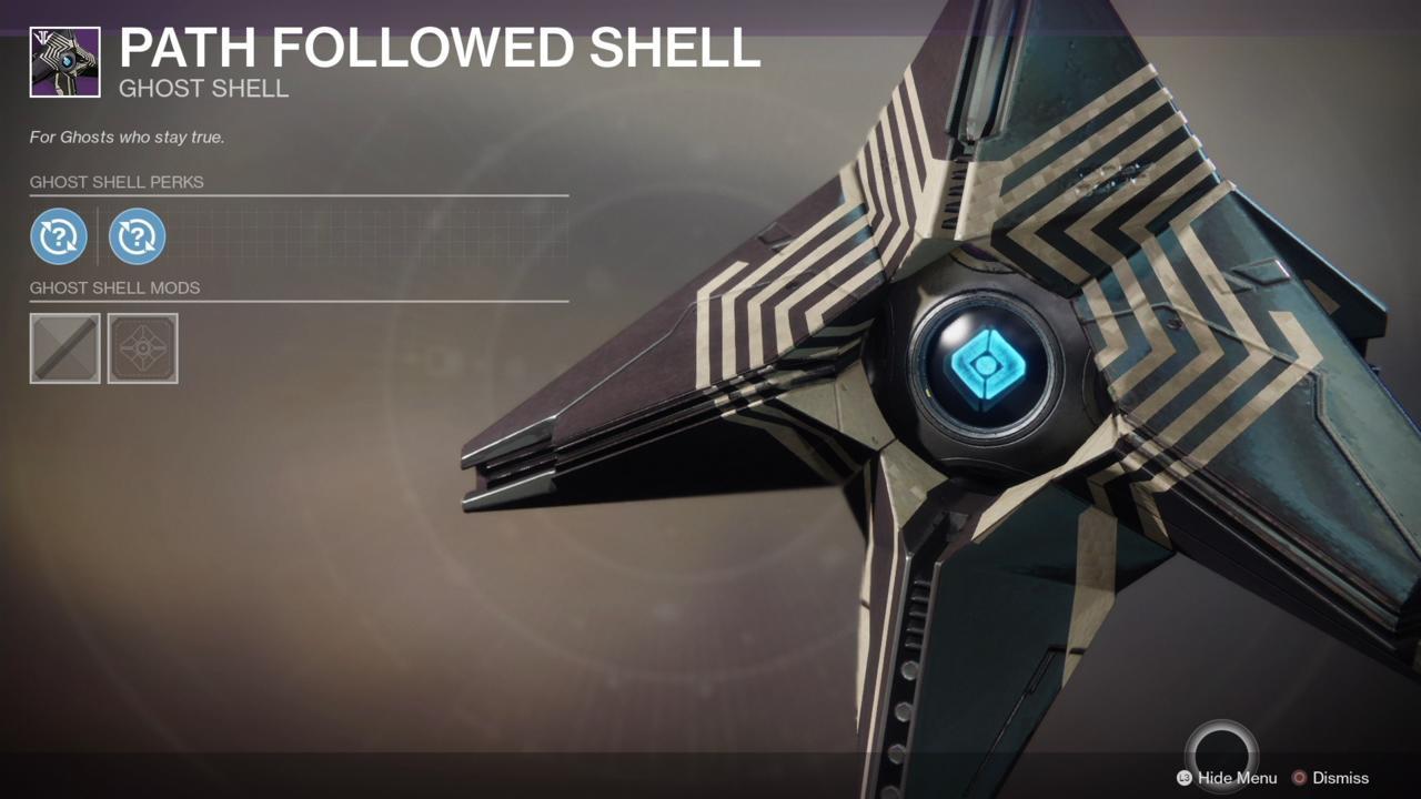 Past Followed Shell