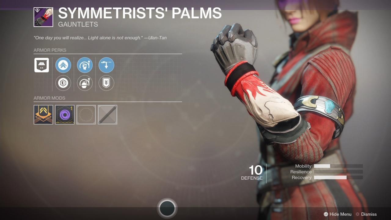 Symmetrists' Palms