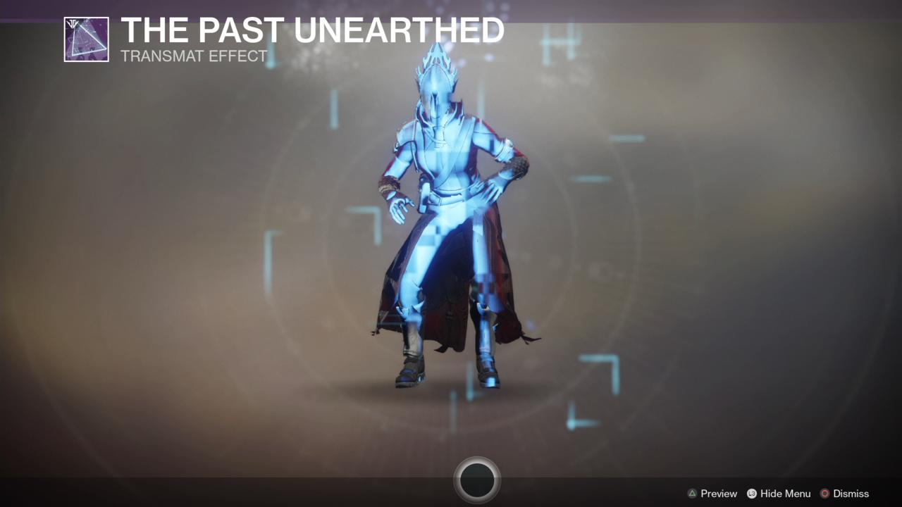 The Past Unearthed Transmat Effect (Arrival)