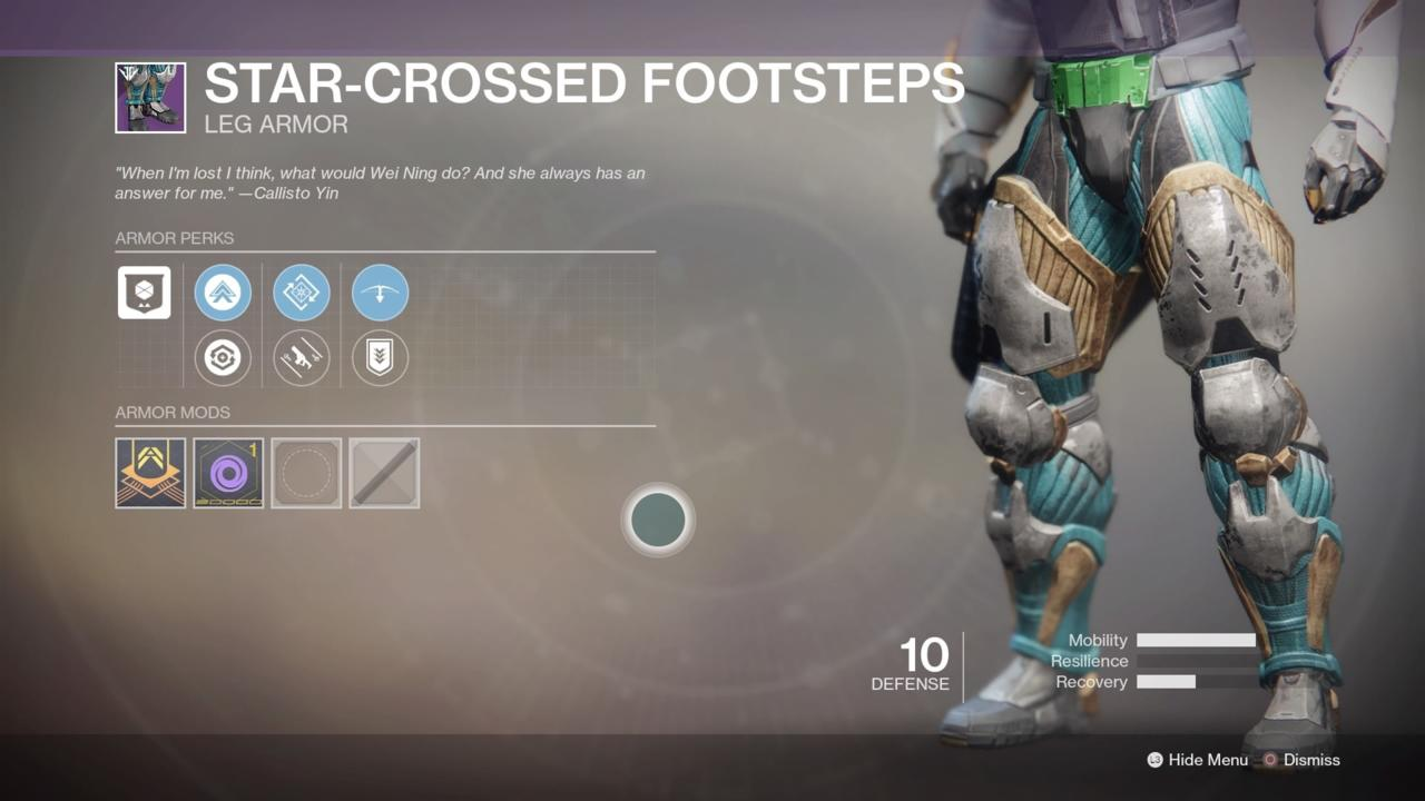 Star-Crossed Footsteps