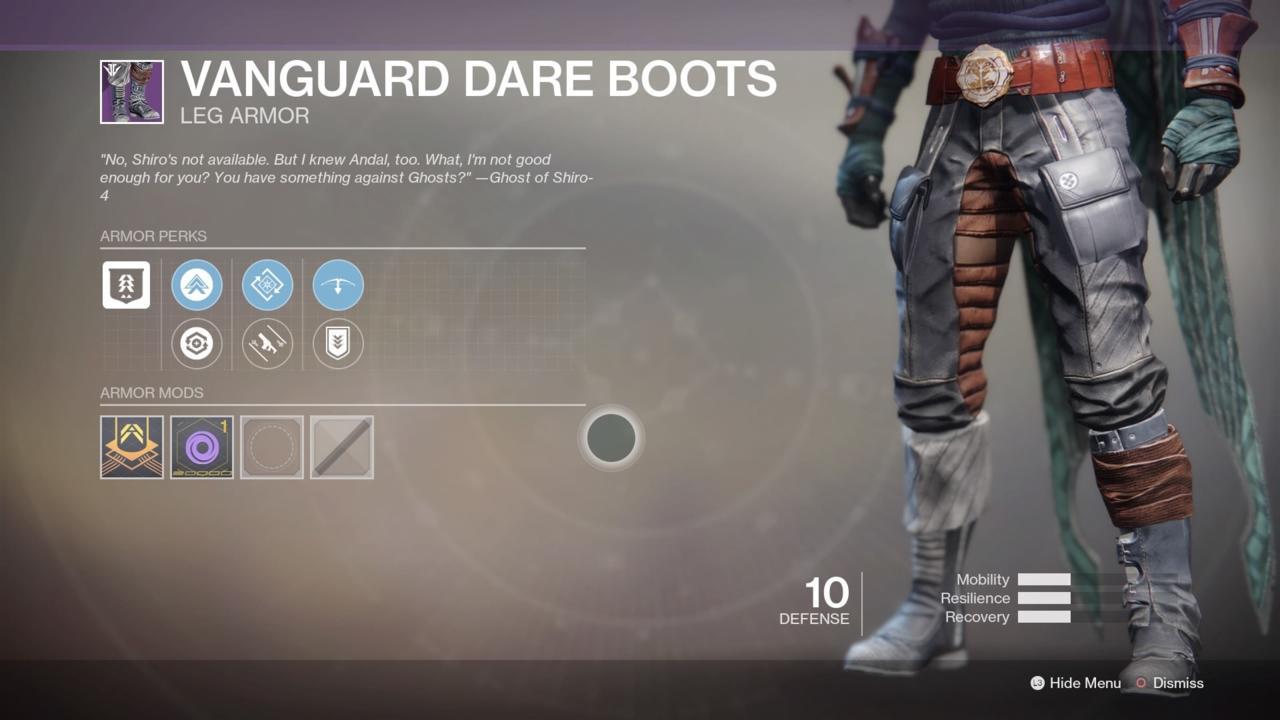 Vanguard Dare Boots