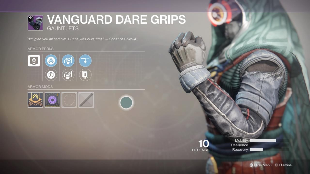 Vanguard Dare Grips