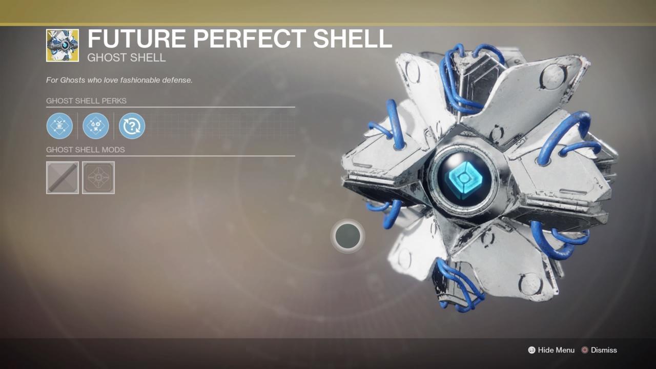 Future Perfect Shell