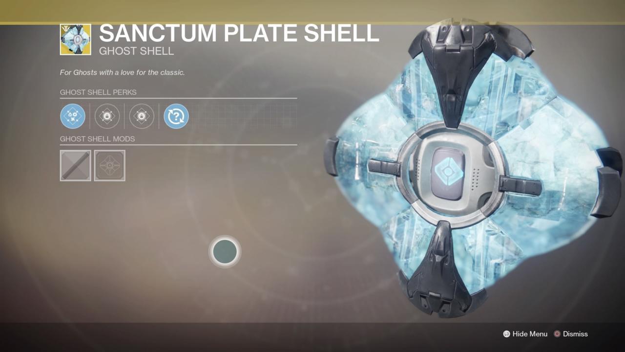 Sanctum Plate Shell