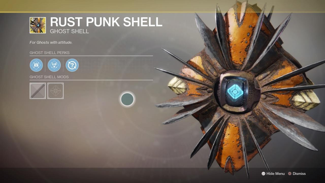 Rust Punk Shell