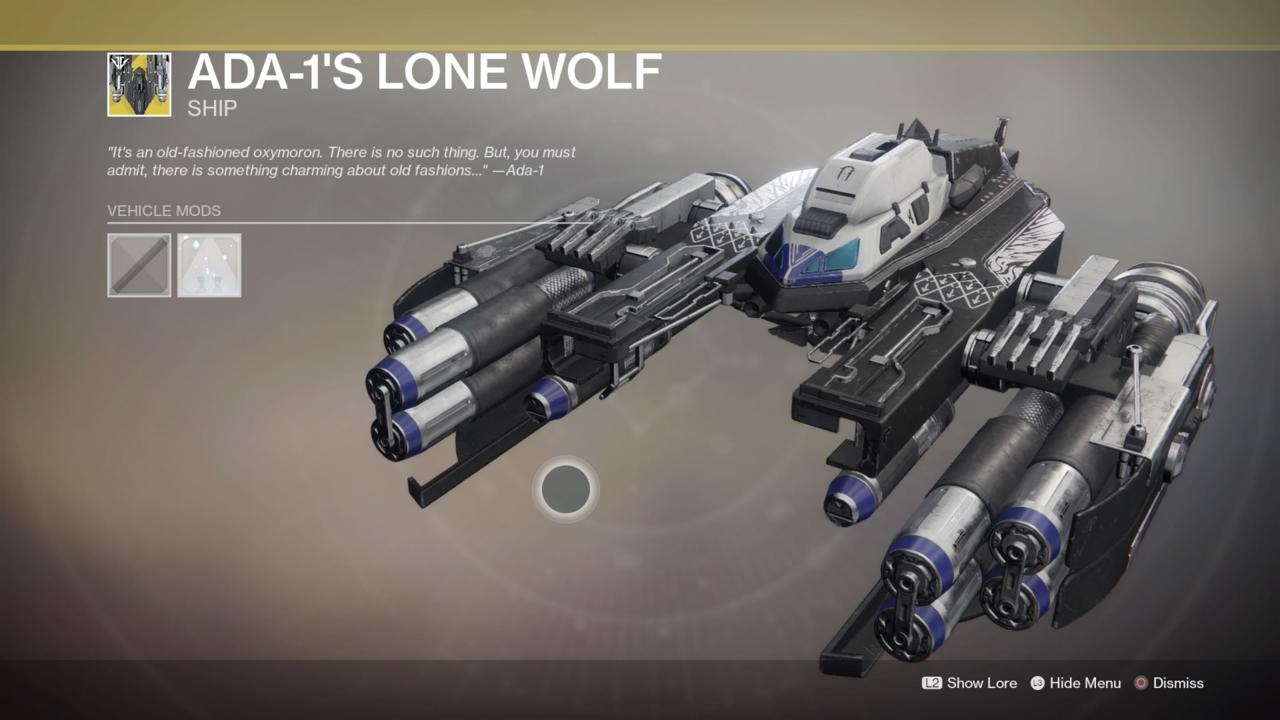 Ada-1's Lone Wolf