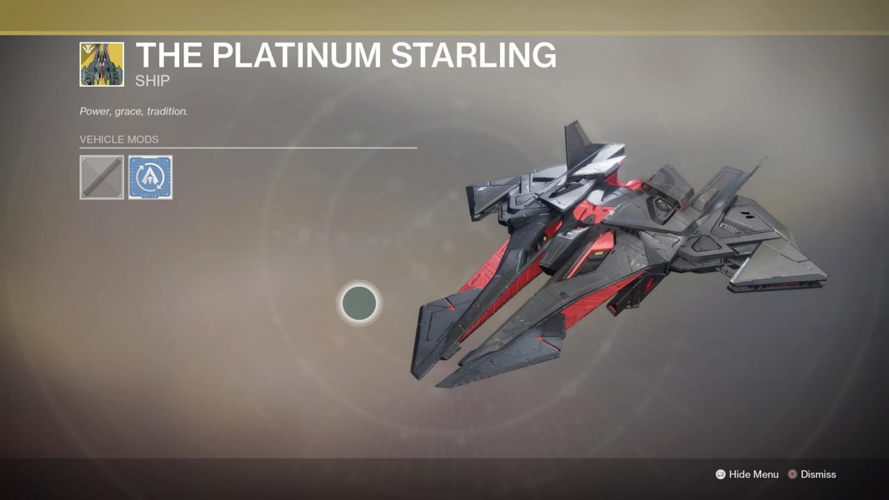The Platinum Starling