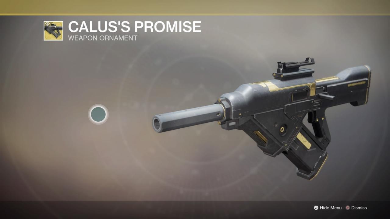 Calus's Promise