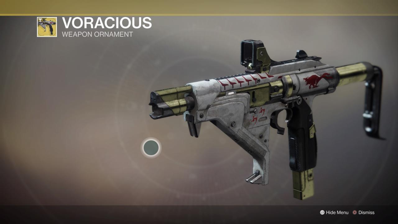 Voracious Weapon Ornament