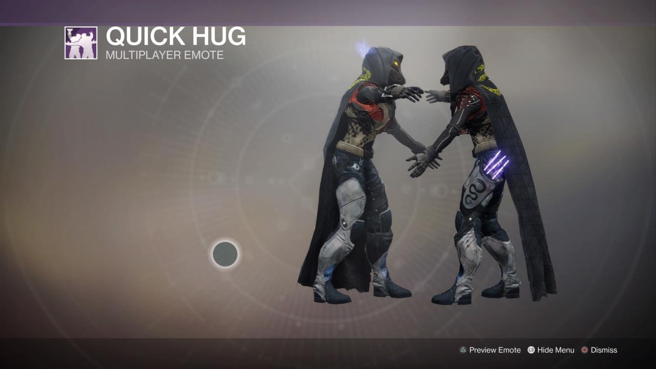 Quick Hug Emote
