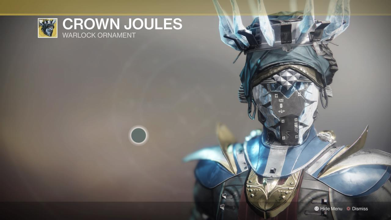 Crown Joules Ornament