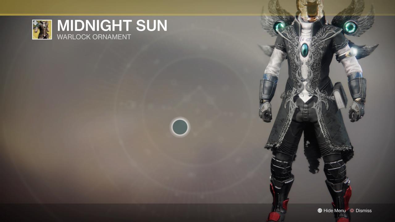Midnight Sun Ornament
