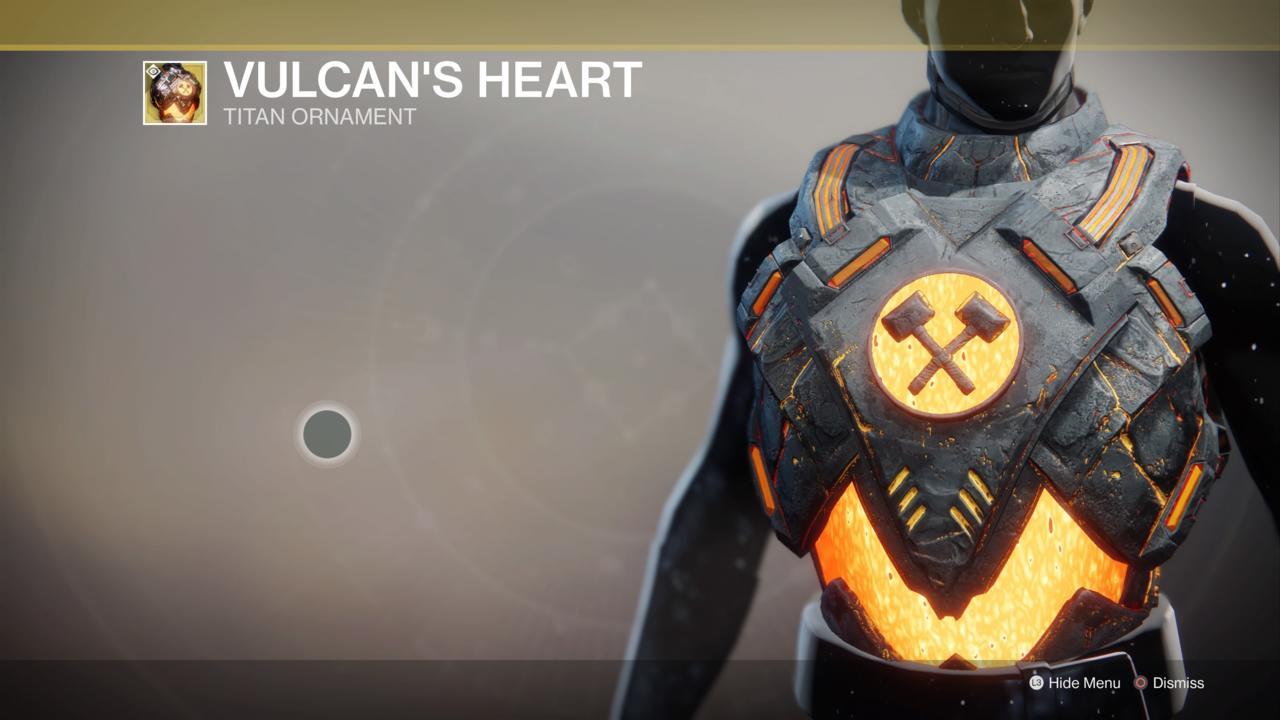 Vulcan's Heart Ornament