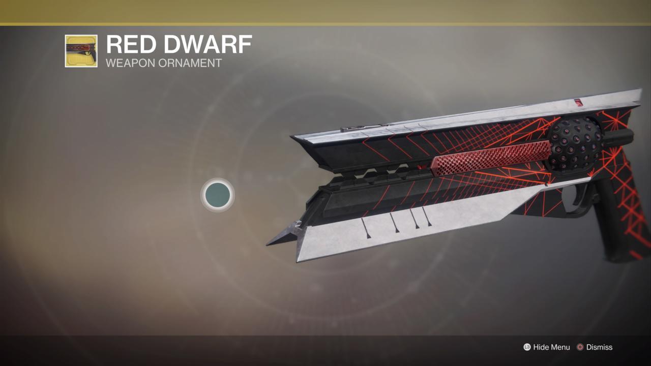 Red Dwarf Ornament