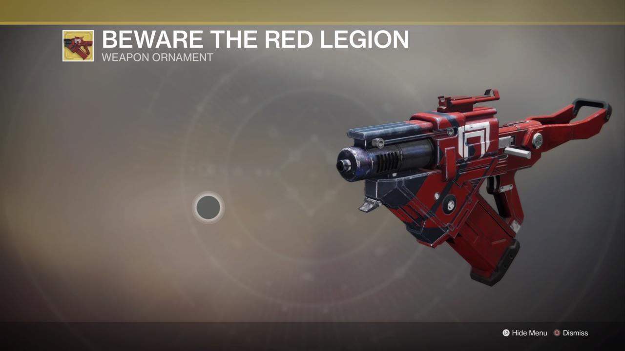 Beware The Red Legion Ornament