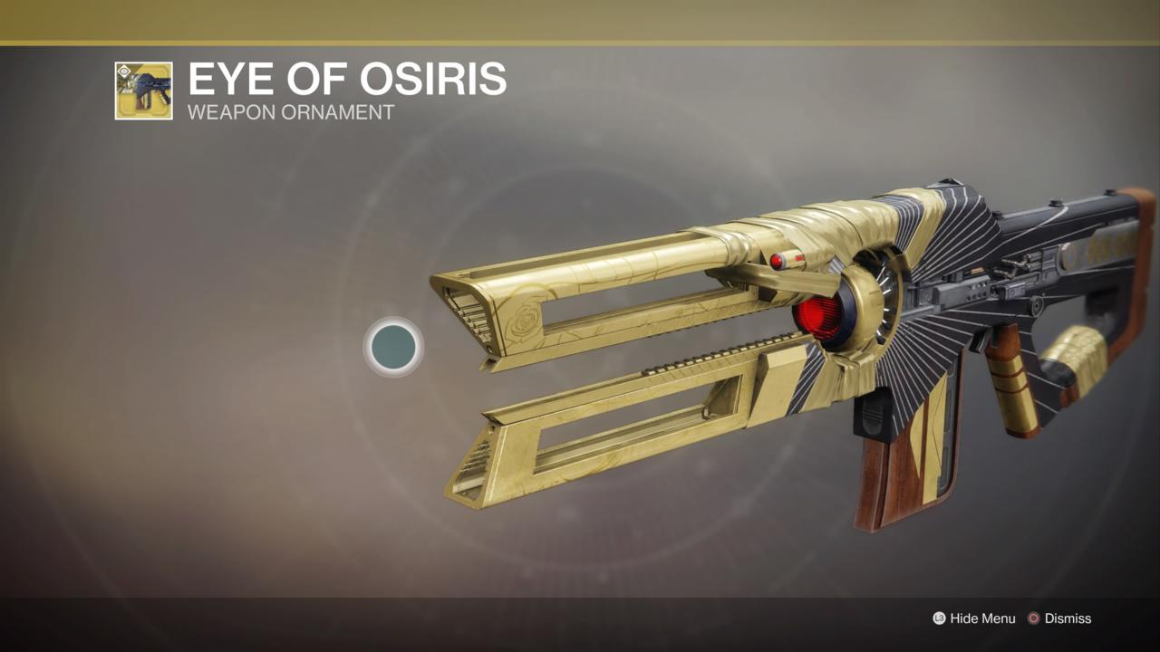 Eye Of Osiris Ornament
