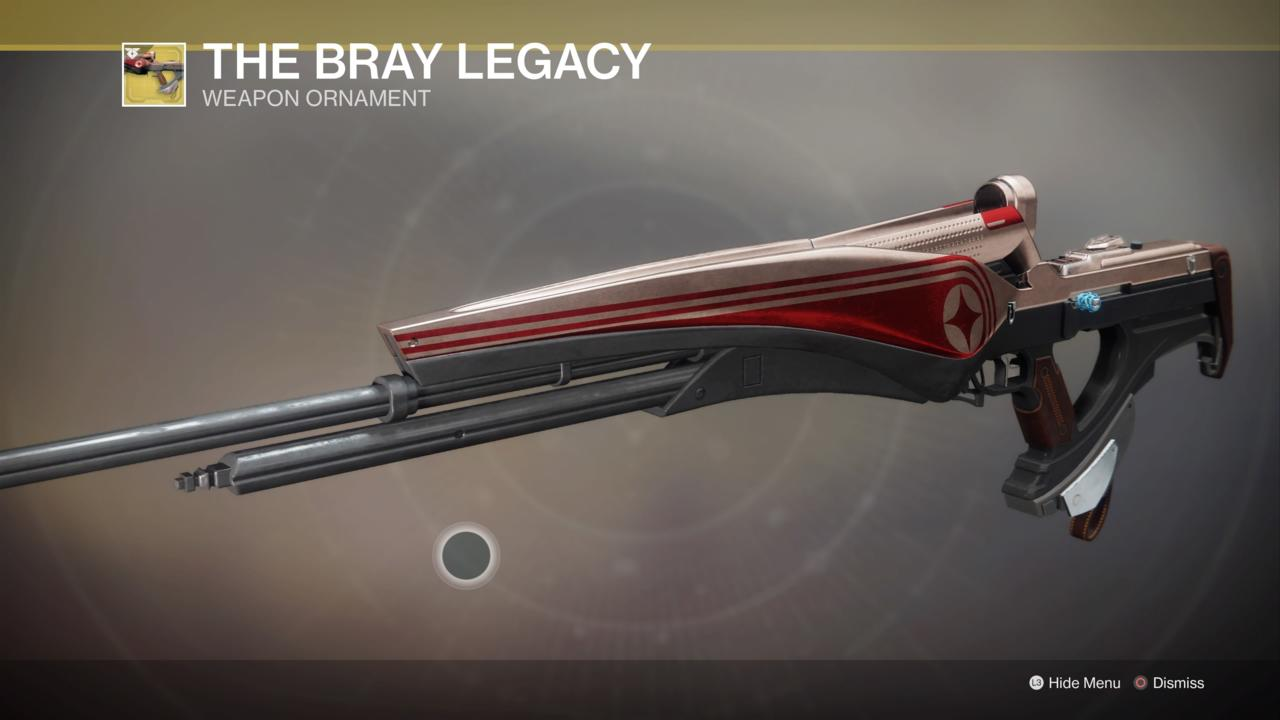 The Bray Legacy Ornament