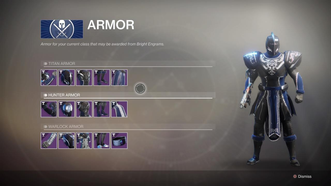 Titan Eververse Armor