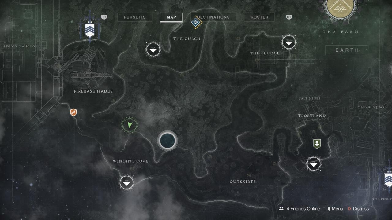 Xur's current location