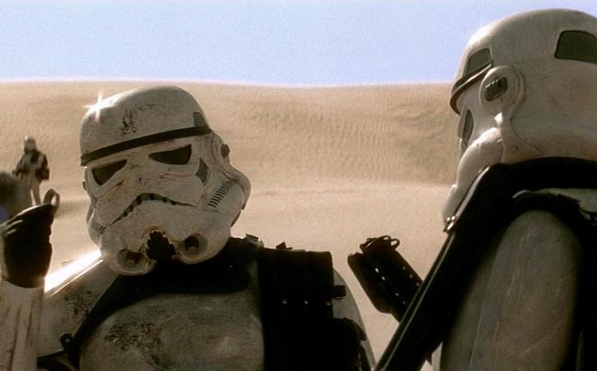 16. Stormtroopers On The Prowl