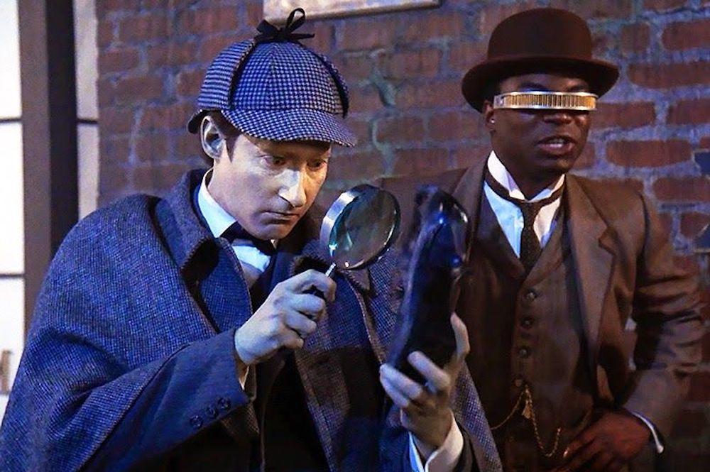 """8. """"Do You Play The Violin? Do You Like Sherlock Holmes?"""""""