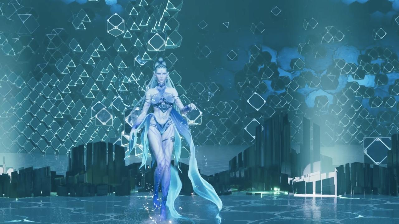 Hit Shiva with lots of Fire spells, and guard against her powerful ice crystals.