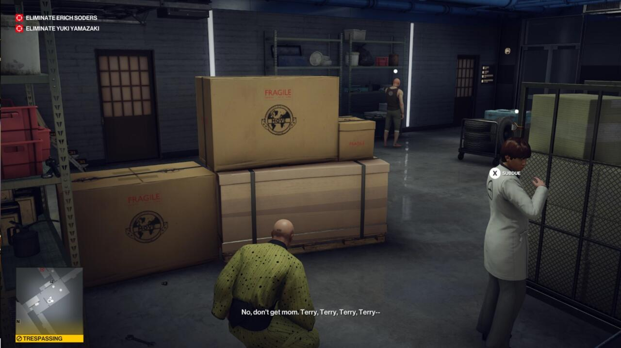 There's a ton of comedy in Hitman, much of it easy to miss completely.