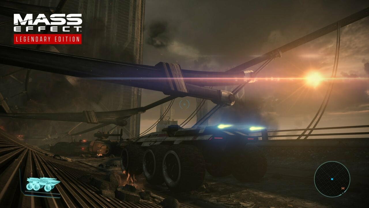 The Mako will take you to some great-looking locales when you revisit Mass Effect in the Legendary Edition.