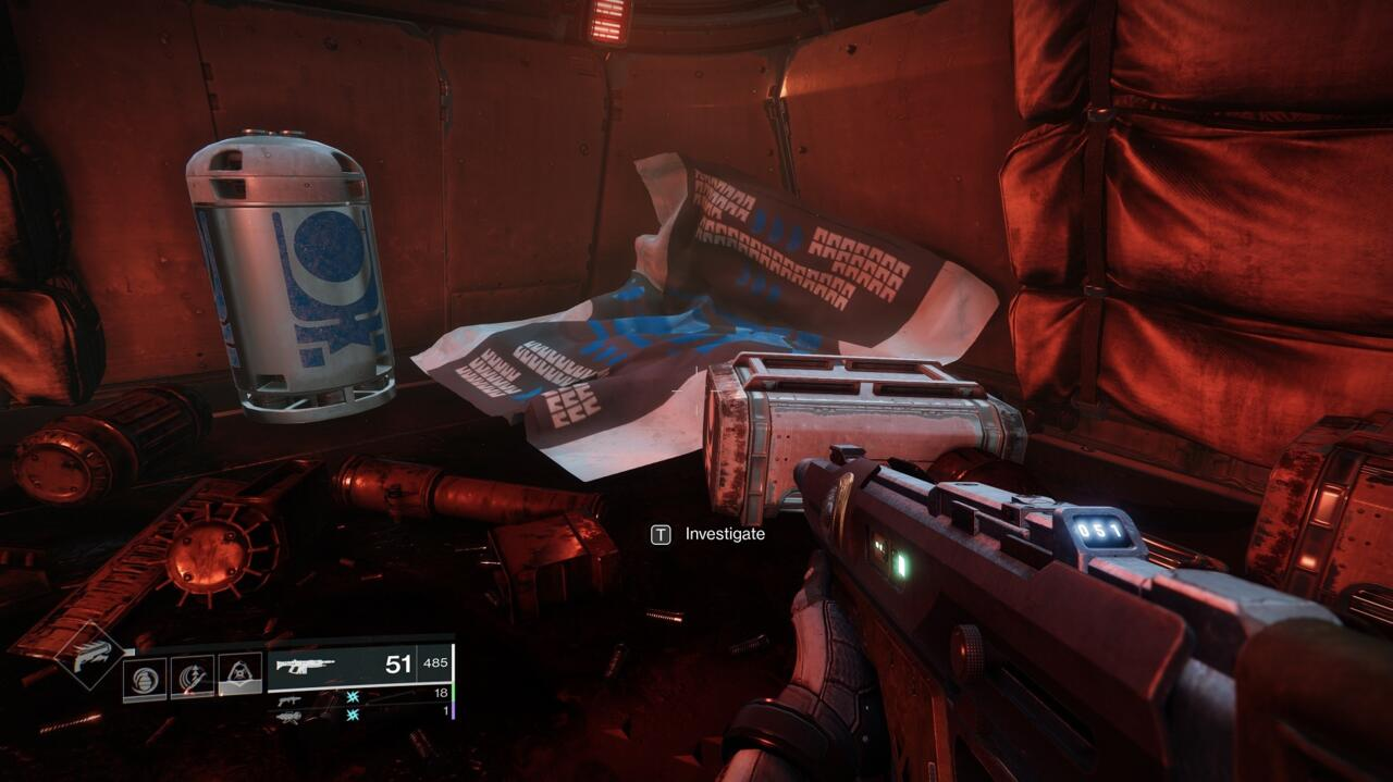 Caiatl sent a team of Cabal technicians to access the Glykon's mainframe, but this is all that remains of them.