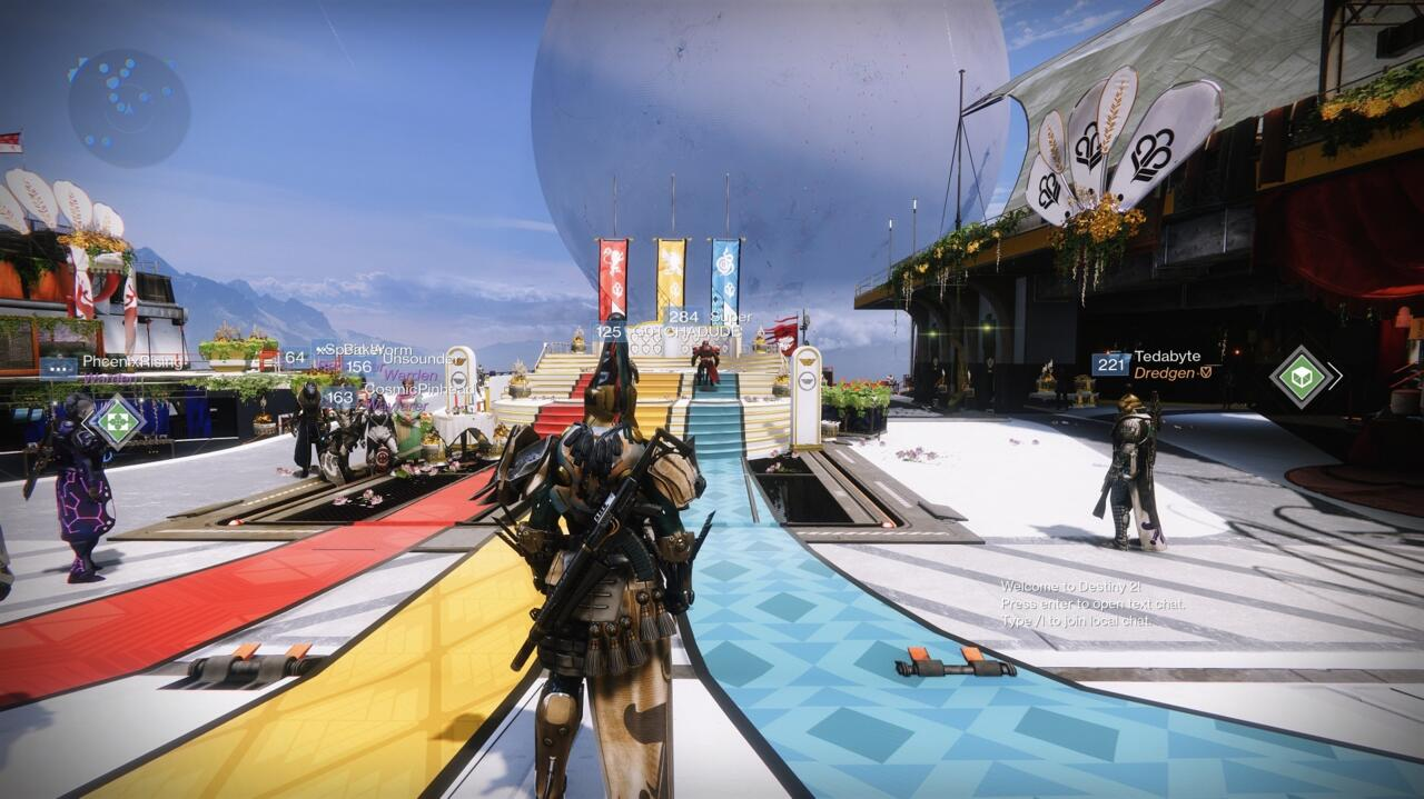 Turn in medals at the Guardian Games podium in the Tower to unlock the Heir Apparent Exotic catalyst quest, and then to advance it.
