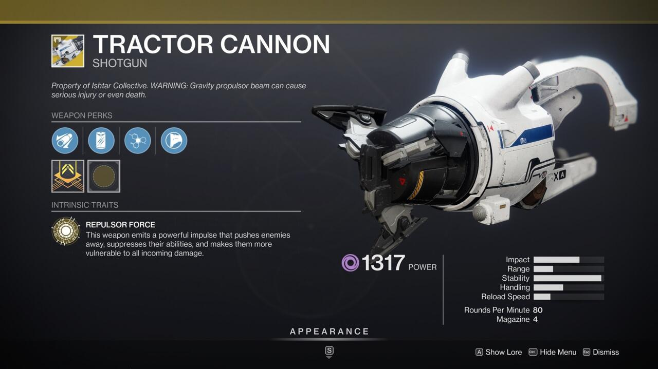 Tractor Cannon is great for minions flying, but its Suppression effect makes it great for disrupting and melting tougher enemies.