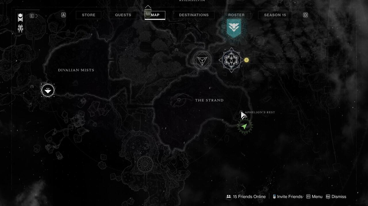 The last Atlas Skew is in the Aphelion's Rest Lost Sector, and you'll basically need to complete the whole thing to reach it.