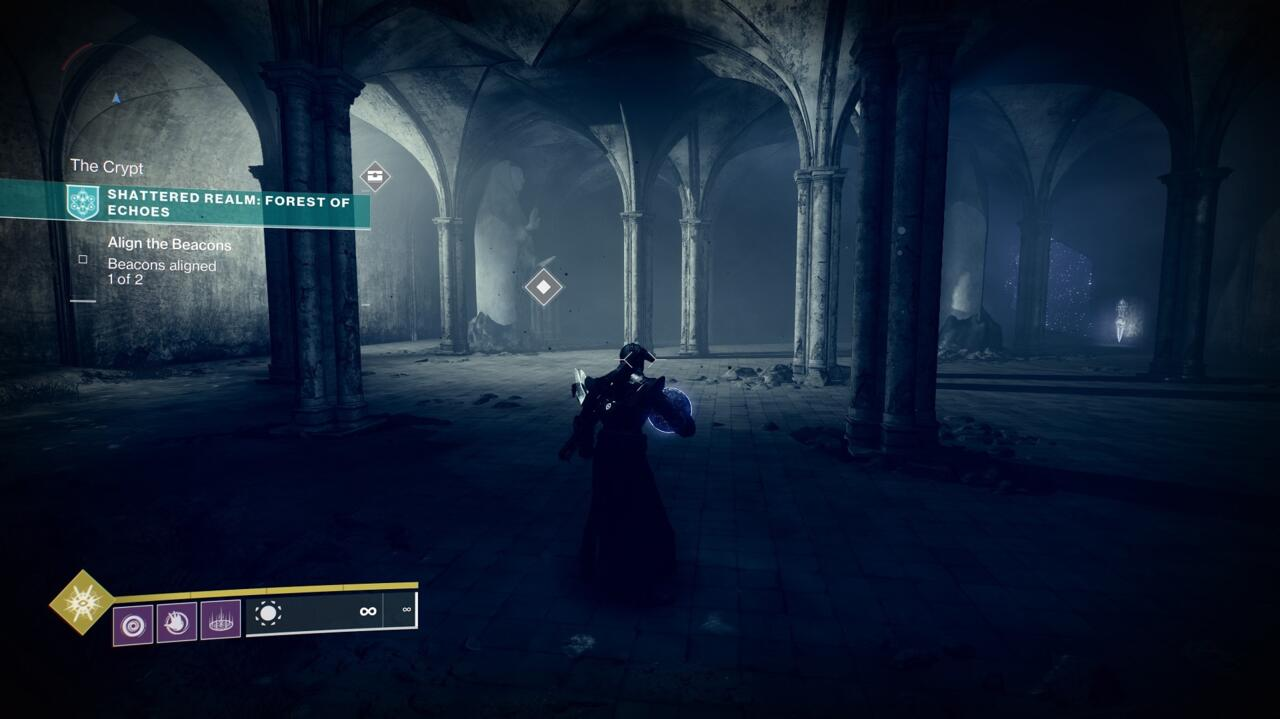 Bring the orb down to the Crypt hidden beneath the Mausoleum, then get ready for a fight with a Taken boss.