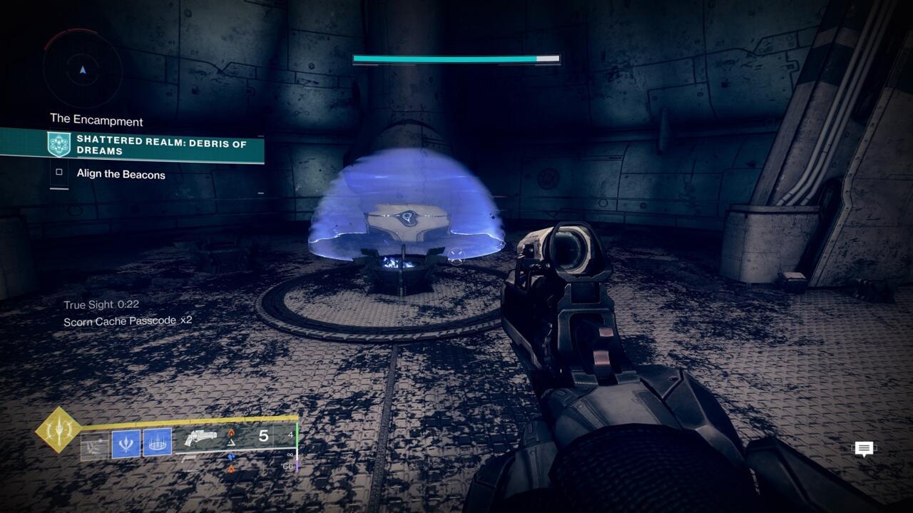 Devi uccidere i tre Scorn Majors che erano in precedenza in questa stanza per aprire l'Ascendant Mystery Chest.
