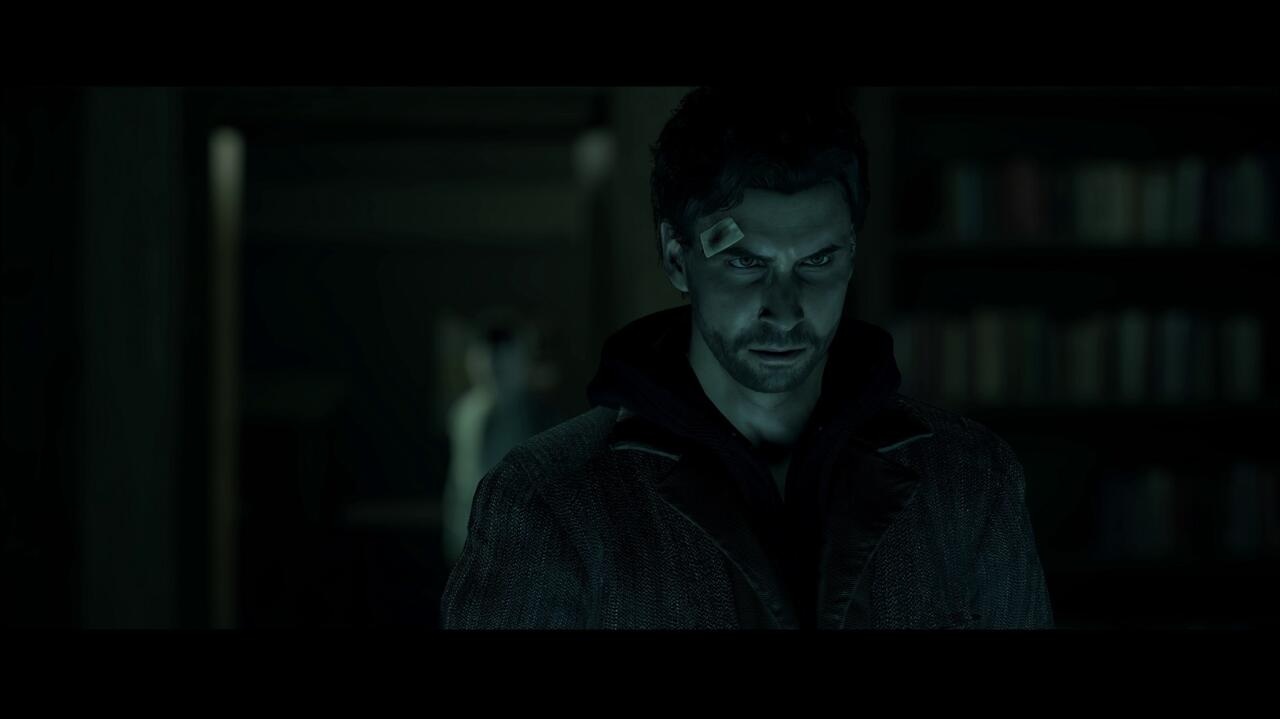 The updated character models in cinematics really help carry the drama of Alan Wake's best scenes.