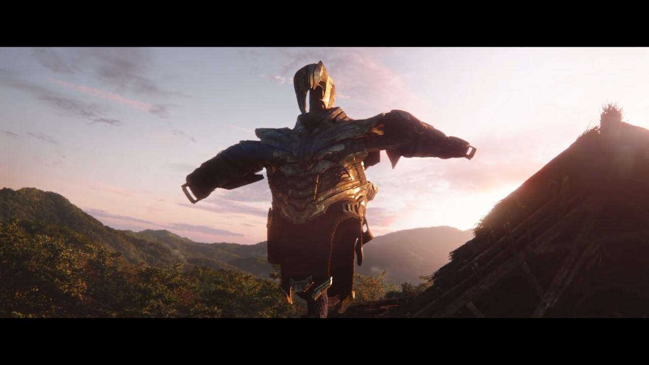 Thanos really is living as a farmer