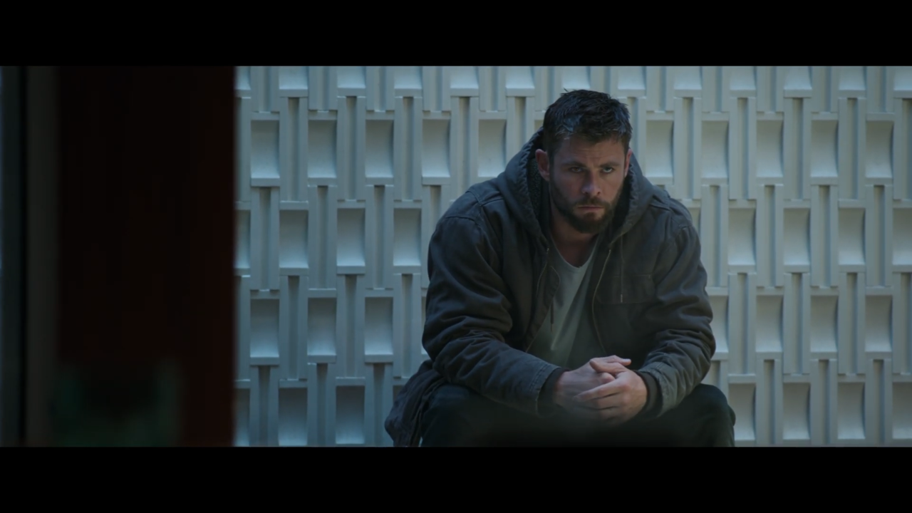Thor is still on Earth, and doesn't seem too happy about it.