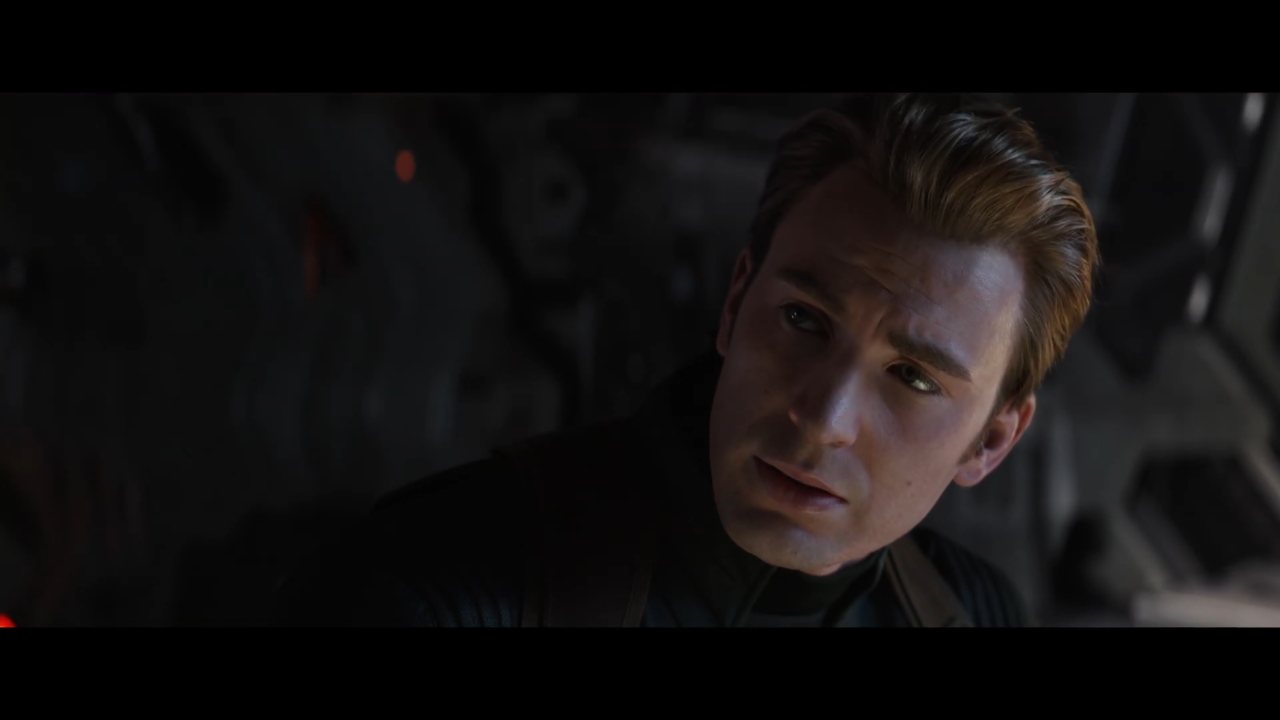 Steve's wearing the Winter Soldier-era Stealth Suit again